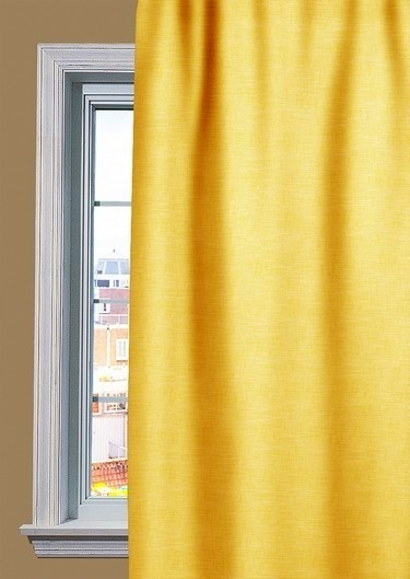 Yellow Curtain Onlinecurtainsnl