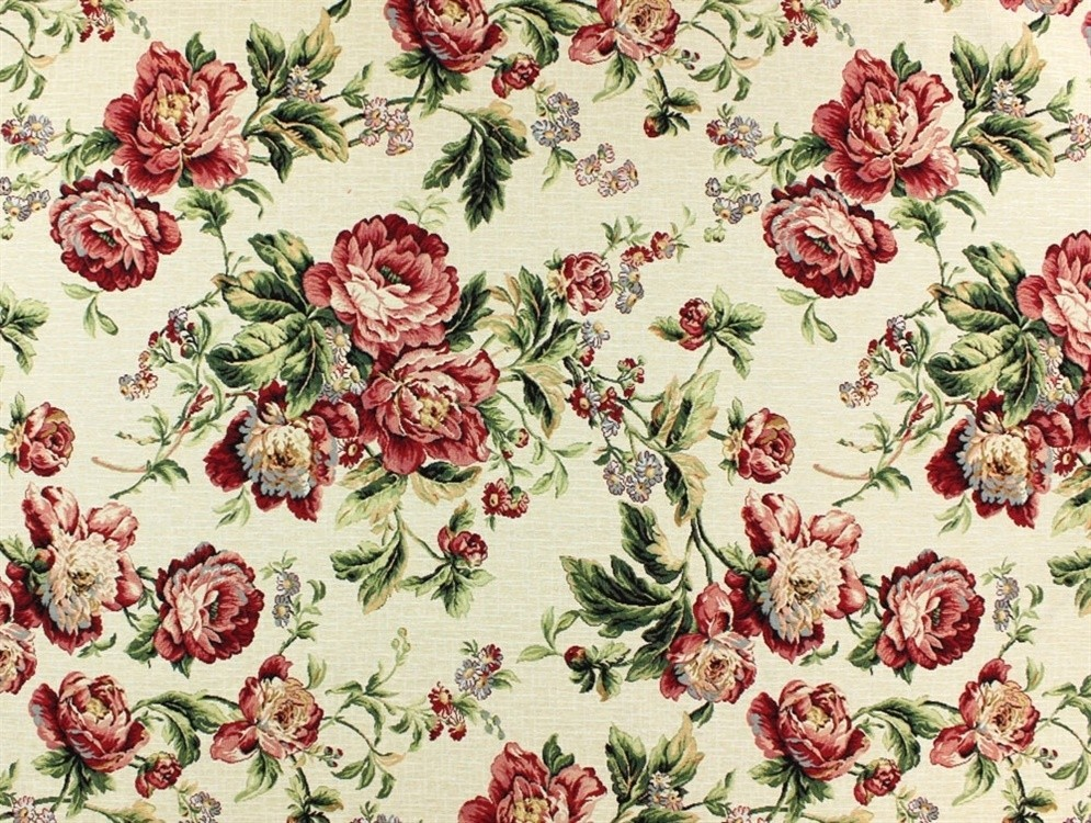 Gobelin Floral Curtain